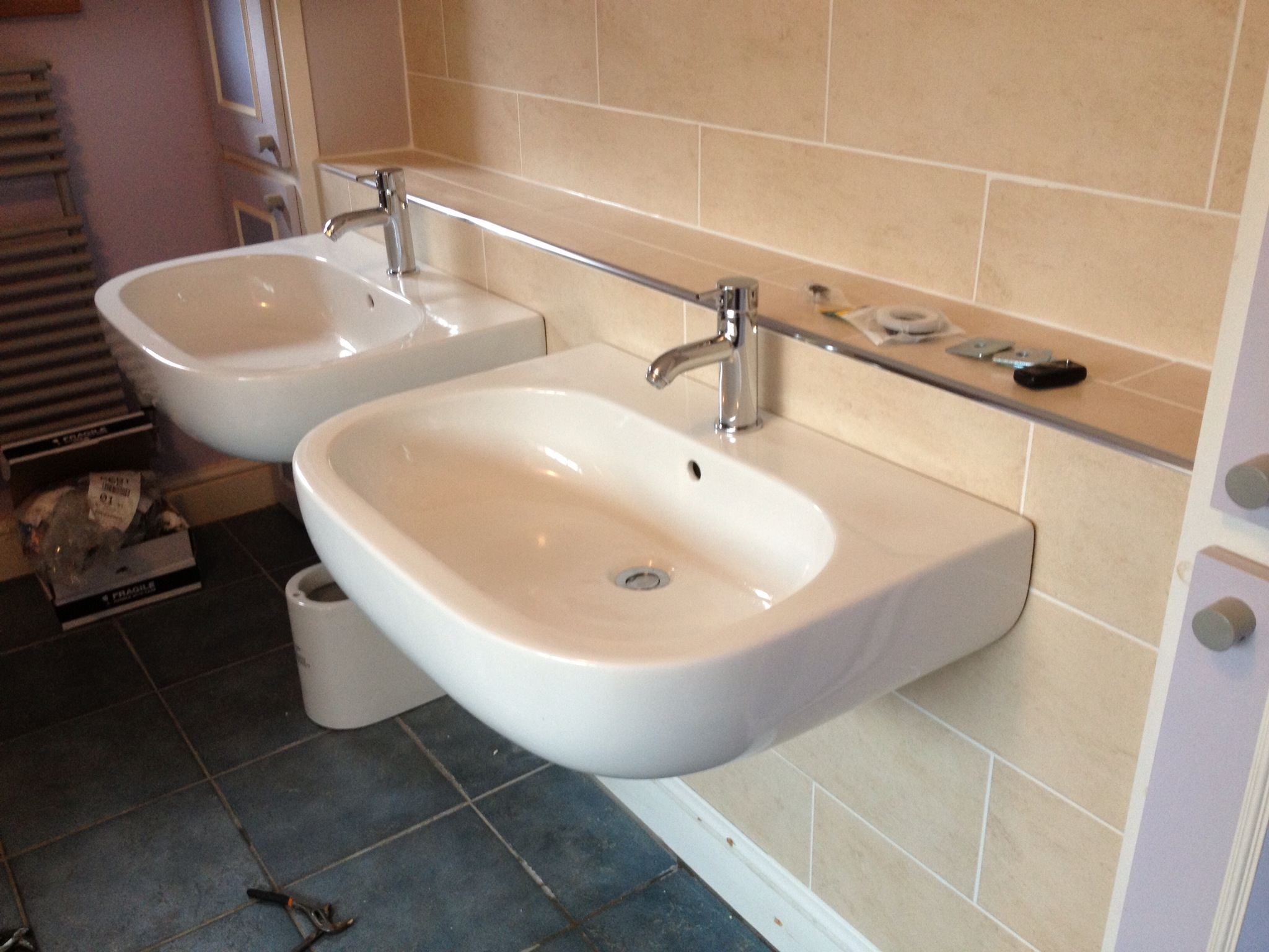 Bathrooms Installed by Julian Biggs